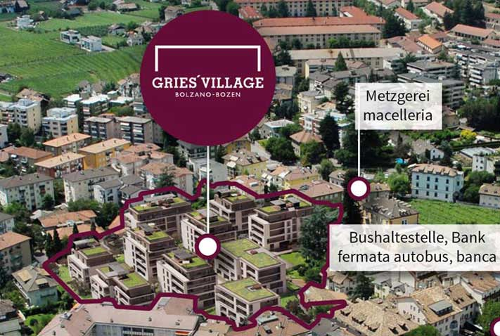 Gries Village - Bolzano
